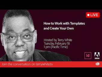 How to Use Templates and Create Your Own Templates in InDesign