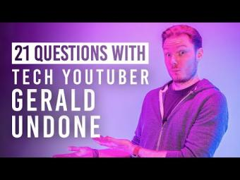 Tech YouTuber Gerald Undone Shares His Go-To Camera Gear & More in the B&H Superstore | 21 Questions