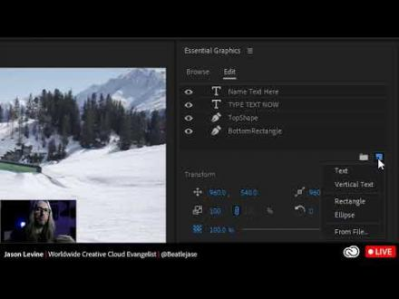 How to Create Responsive Animations and Lower Thirds in Premiere Pro