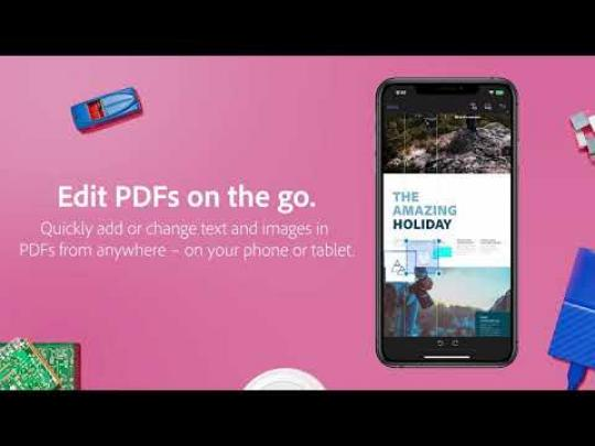Edit PDFs with the Acrobat Reader mobile app |  Adobe Document Cloud